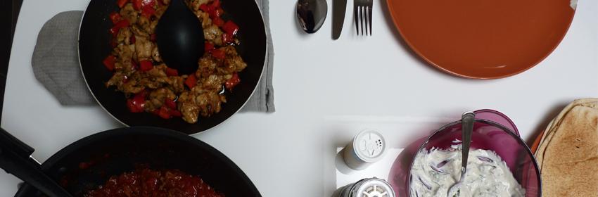 recept wraps met kip