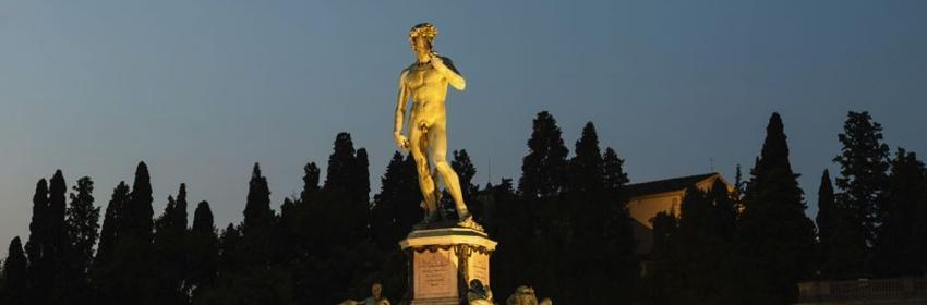 De 5 meest gefotografeerde plaatsen in Europa.Piazzale Michelangelo in Firenze