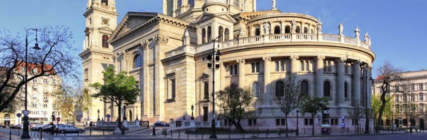 De 5 meest gefotografeerde plaatsen in Europa.Sint-Stefanusbasiliek in Boedapest