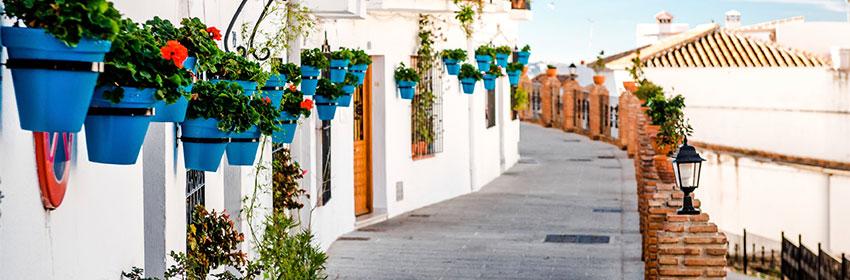 Top-5-lentebestemmingen.Andalusie
