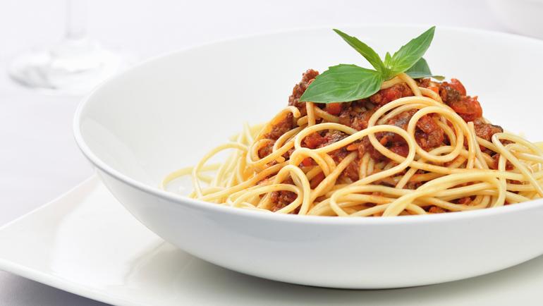 Spaghetti bolognese: recept