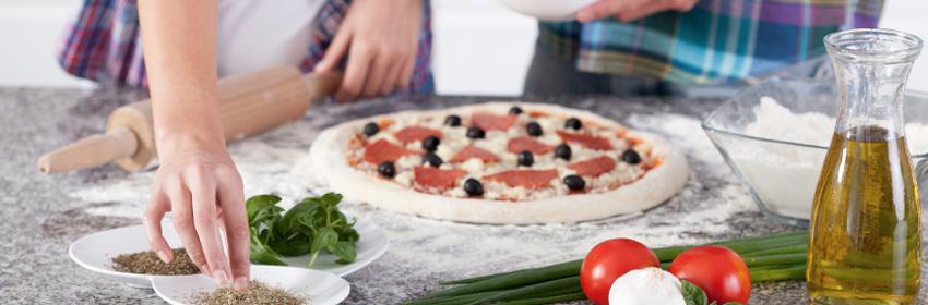 zelf pizza maken top