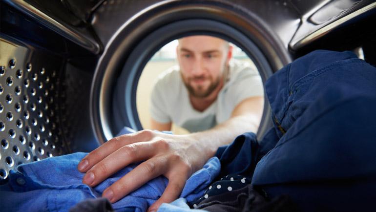 Besparen op wassen en drogen