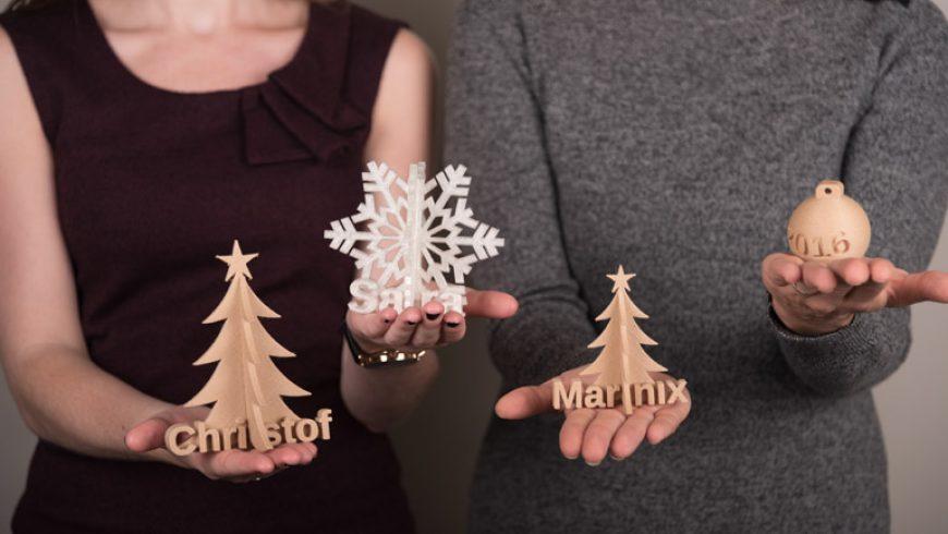 Uniek kerstcadeau: 3D geschenken