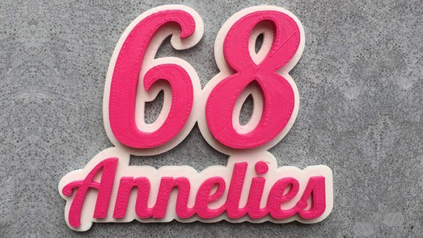 3D Huisnummer voor jouw huis