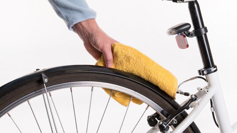 Hoe je fiets schoonmaken
