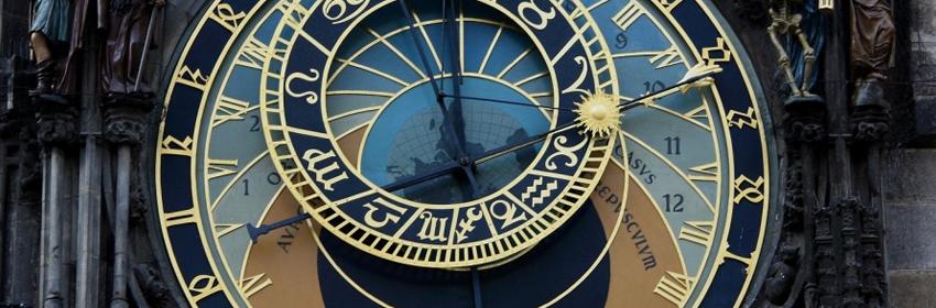 De 5 meest gefotografeerde plaatsen in Europa.Astronomische klok in Praag