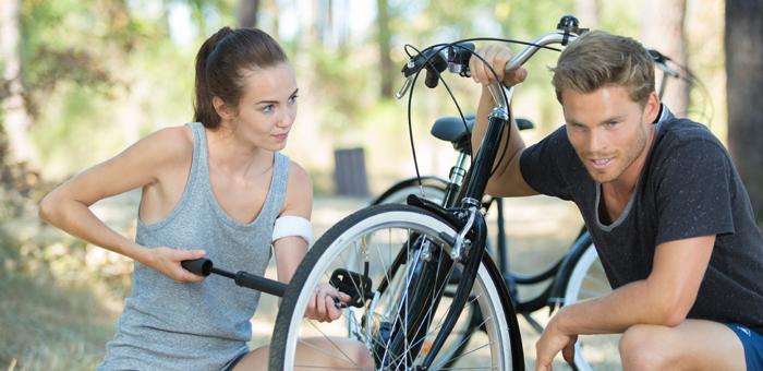 De juiste bandenspanning voor je fiets kiezen