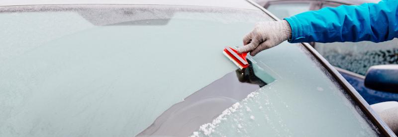 Ruit auto winterklaar maken