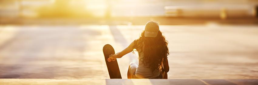 waarom skateboarden