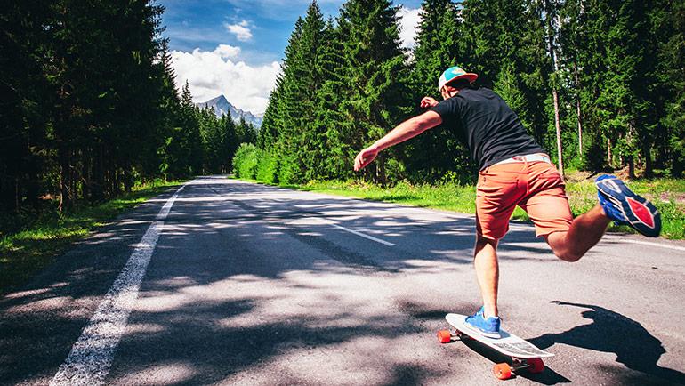 Skateboarden, de perfecte manier om je gedachten te verzetten!